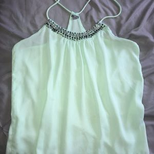 Halter Blouse with Bling